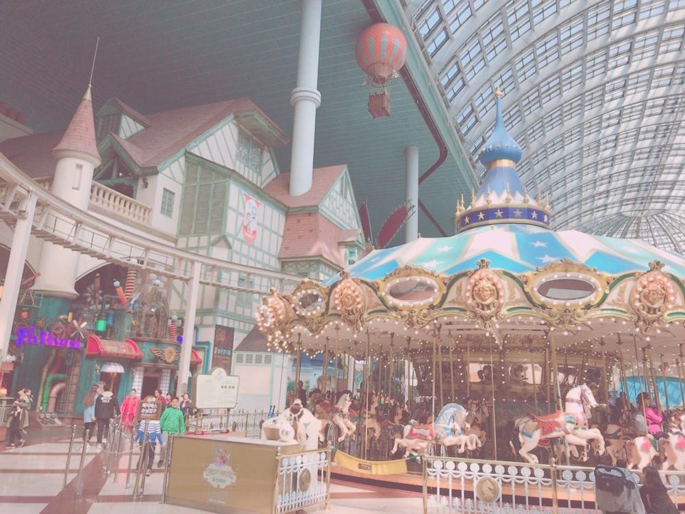韓国から発信その③写真映えばっちりな遊園地🎡
