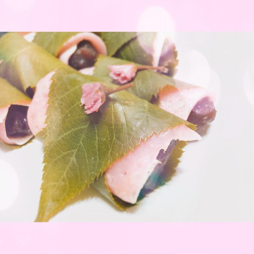 春のお菓子☀️『関東風さくら餅』の超簡単レシピを紹介🌸💭