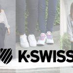 """【プレゼント企画】K・SWISSの""""白スニーカー""""をNomdeモデルが自分流にアレンジ😳🌈"""