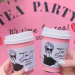 原宿に新ピンクカフェ登場💓💓💓ティースタンドナナに迫る🏃💕