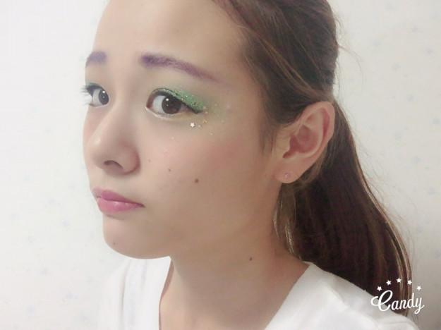 JK必見✨文化祭メイク👀💕🌈カラーデコメイク〜Blue ver〜😎💗