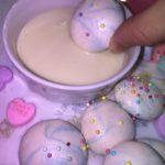 カラフル🌈簡単メレンゲクッキーの作り方💗