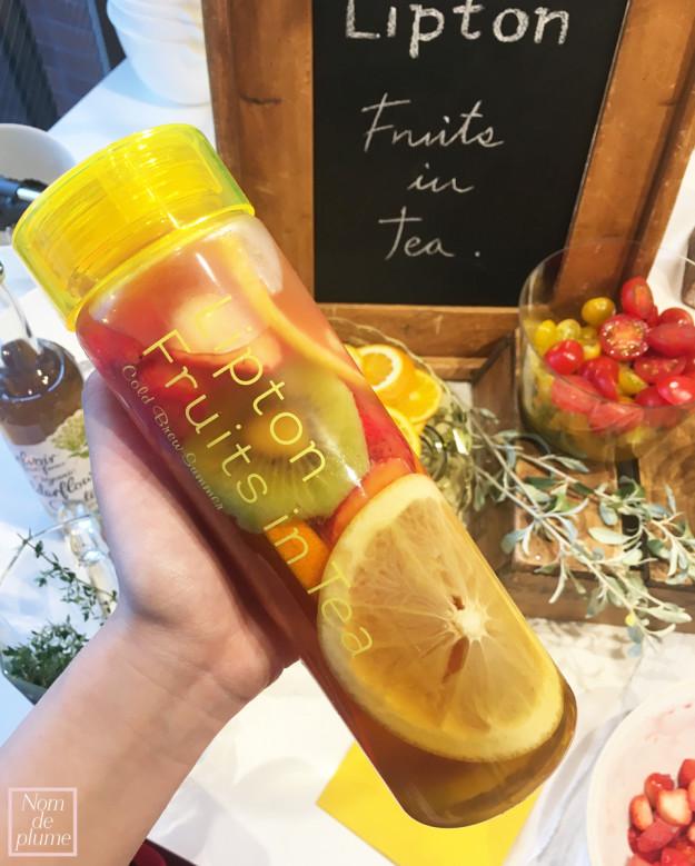 """今年も出店決定!大人気""""Lipton Fruits in Tea""""を一足先に体験♡♡"""