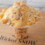 韓国発のかき氷カフェ「WickedSnow」がテイクアウトを開始😆