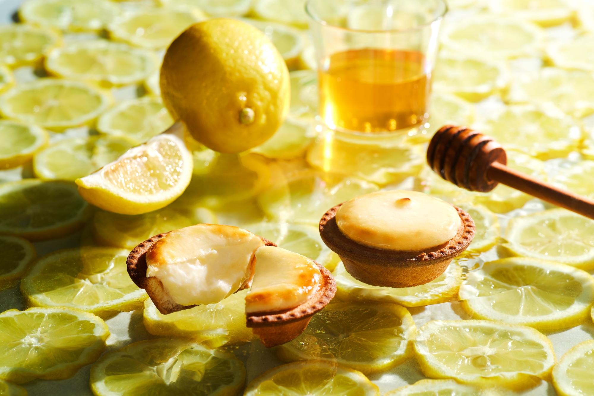 [BAKE CHEESE TART]からはちみつがけレモンチーズタルトが登場🍋