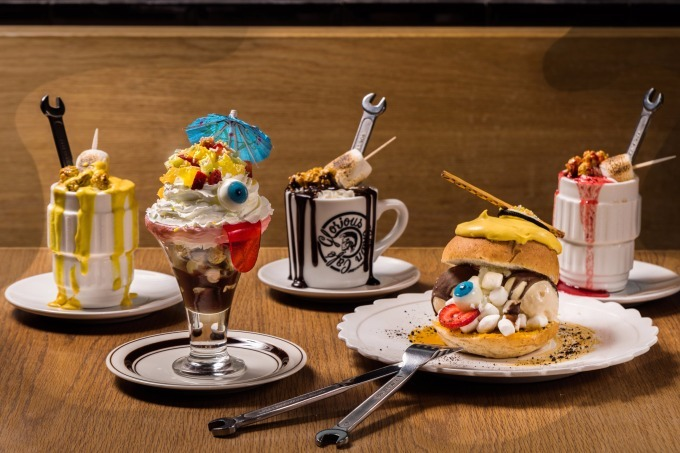 """ディーゼルのグロリアスチェーンカフェに""""日本の妖怪""""が出現👻?! こわ可愛いハロウィンメニューが登場!!"""
