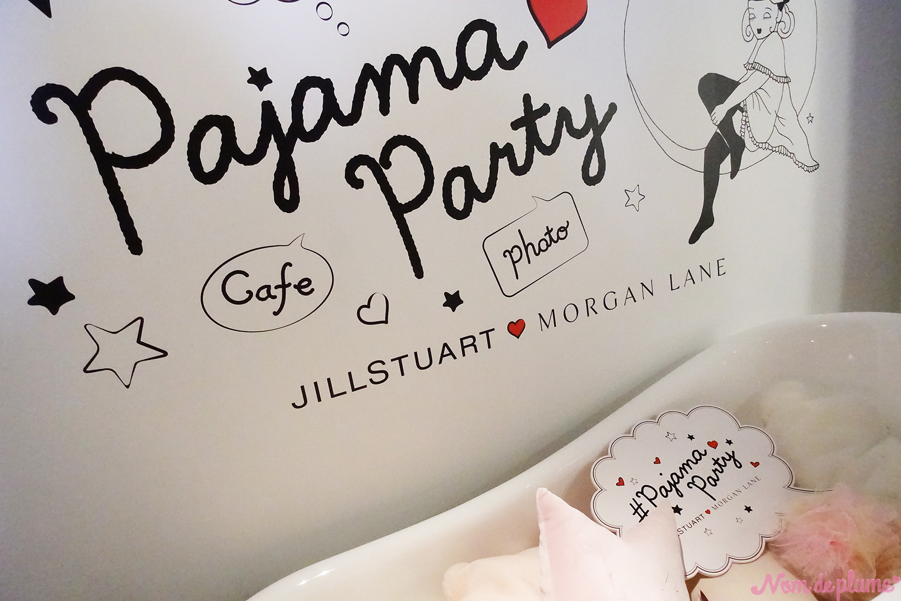 JILL STUART × MORGAN LANE 〜pajama party〜3日間限定オープン🎉