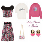 Lily Brown meets Barbie👩💍✨ 乙女心をくすぐるガーリーなコラボアイテムは必見🌈