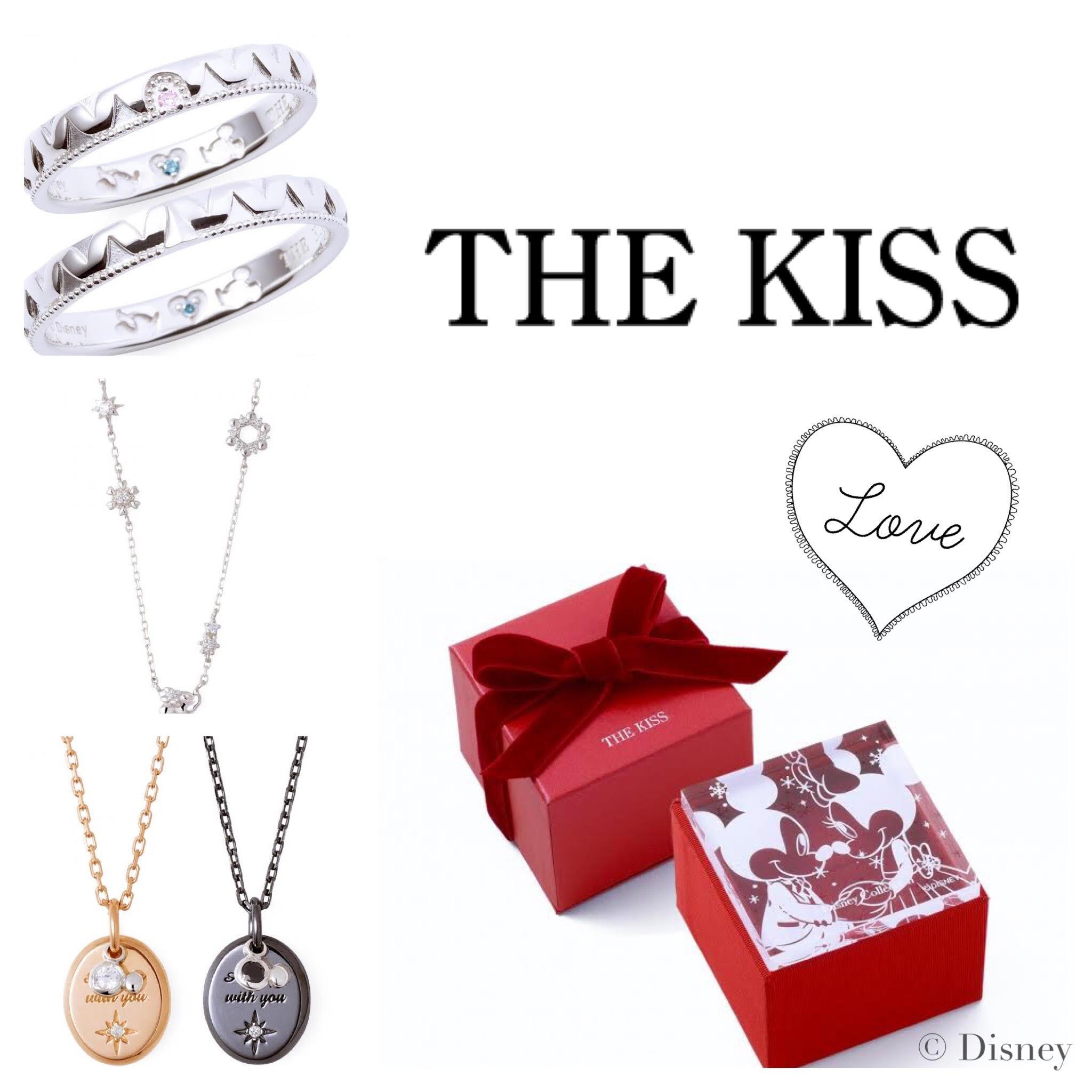 nom de plume(ノンデプルーム) ペアジュエリーブランド「the kiss