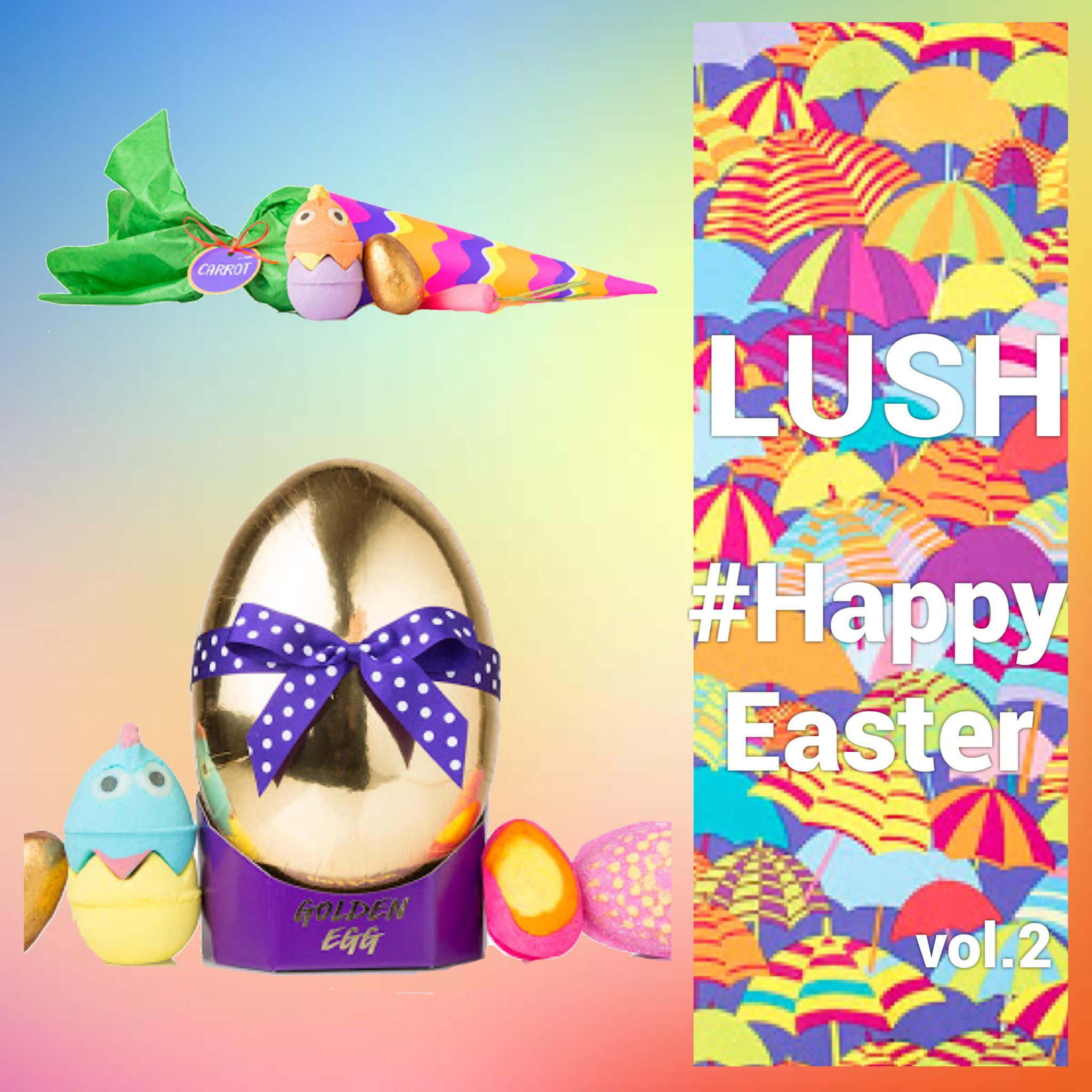 "LUSH Happy Easter! vol.2🐰💓 かわいすぎる""ギフトセット""などをご紹介🙌🎵"