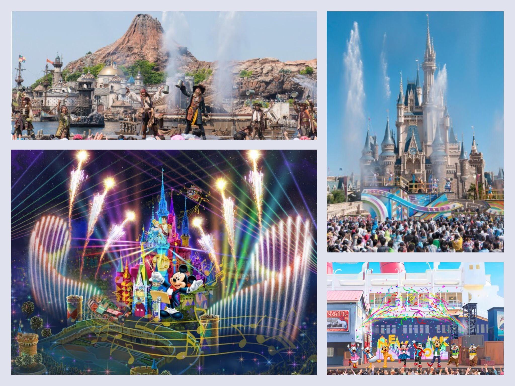 東京ディズニーリゾートに夏イベント到来😆🙌🎆新ナイトショーも登場✨