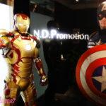 全世界待望の最新作公開記念!アイアンマン、キャプテン・アメリカがNom de plume編集部にやってきた🏃♡