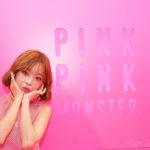 最新プリ機『PINKPINKMONSTER』お披露目会にテリちゃん登場🎀