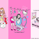 foxyがキティと初コラボ❤️『HELLO KITTY ♡ foxy illustrations』が魅力いっぱい💋💄