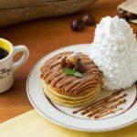 Eggs's Thingsから秋スイーツの定番「モンブランパンケーキ」が登場🌰💕