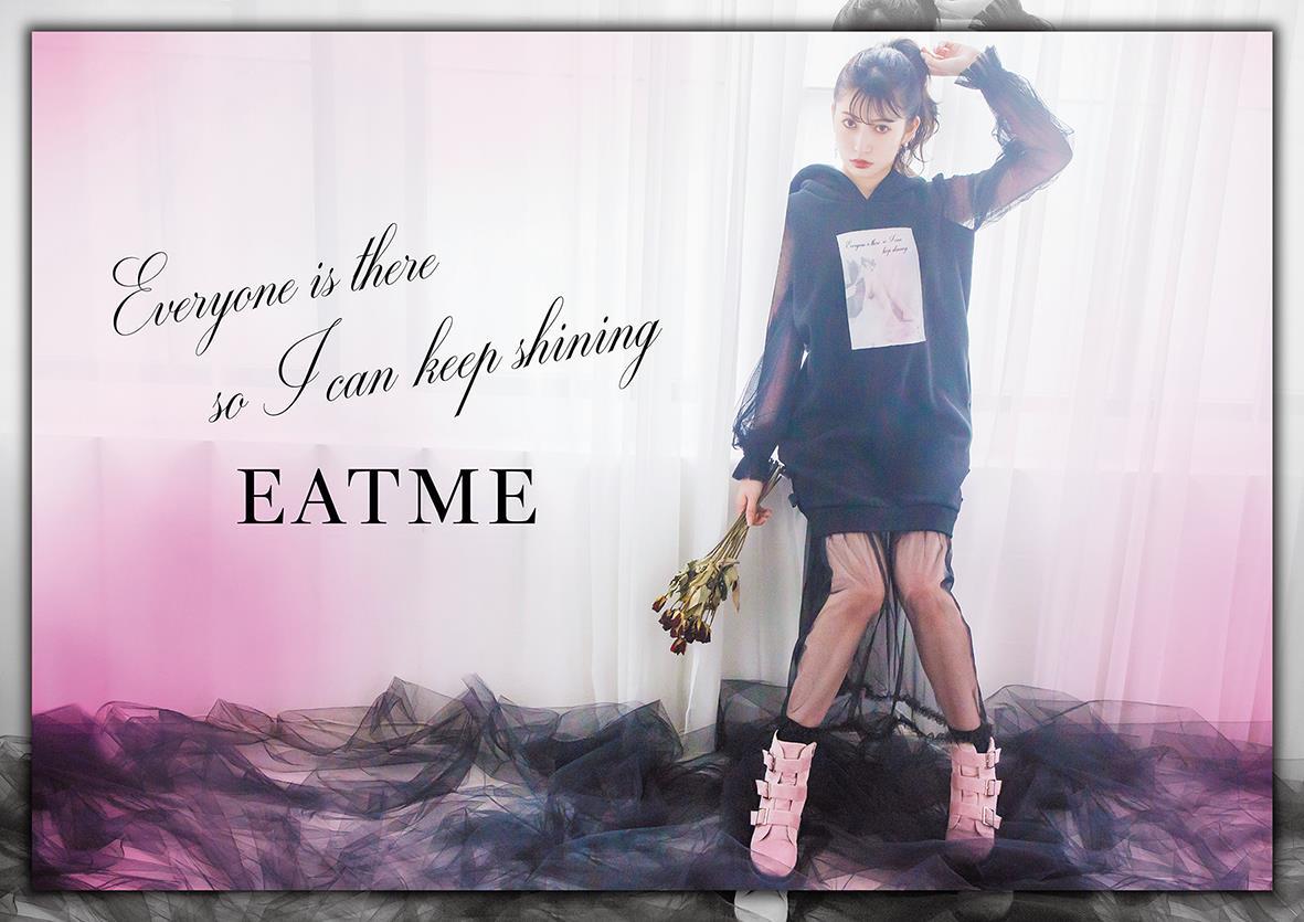 【10/26販売開始】吉田朱里(NMB48) × EATMEのワンピースが可愛すぎる👼💕