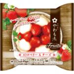 間違いない組み合わせ・・・😍🍓🧀やわもちアイス Fruits ストロベリー&チーズ新発売❤️