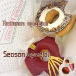 秋の味覚たっぷり♡クリスピークリームドーナツ期間限定新作🤤🍩🔥