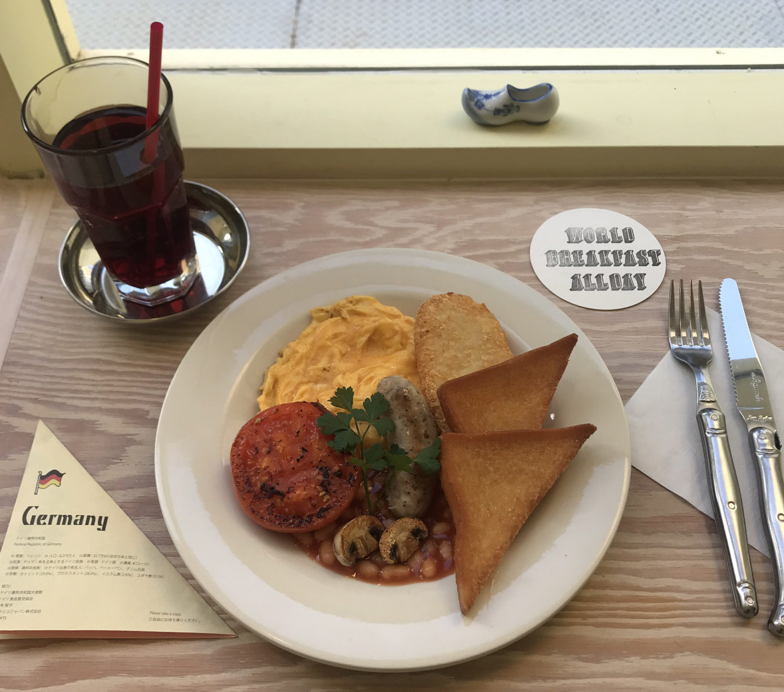 🌎世界の朝ごはんが食べれるカフェ🥐🍒
