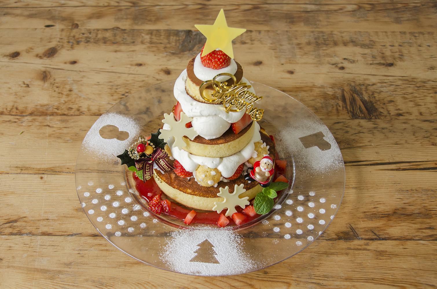 人気のカフェ、アクイーユからクリスマスパンケーキが登場!♡北欧のおもちゃがテーマ🎁🎀