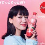 大ヒットフレーバーが帰ってきた❣️「コカ・コーラ ピーチ」がもっと美味しくなって限定発売🍑