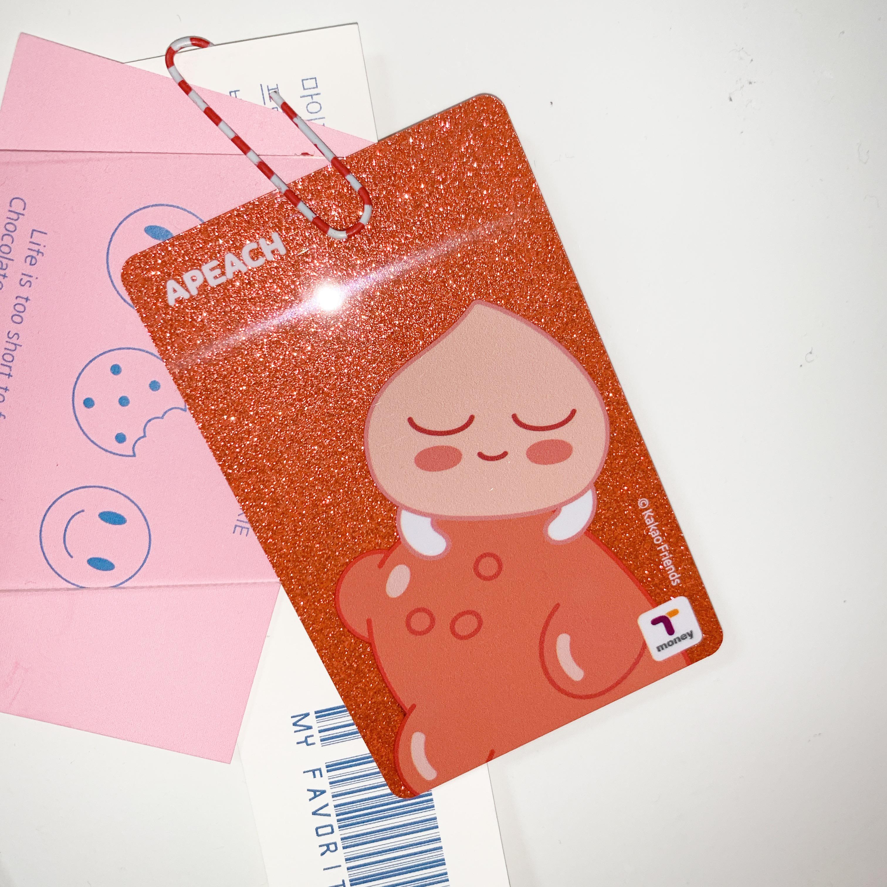 韓国行くなら必読?! かわいいカードの正体は..?♥️