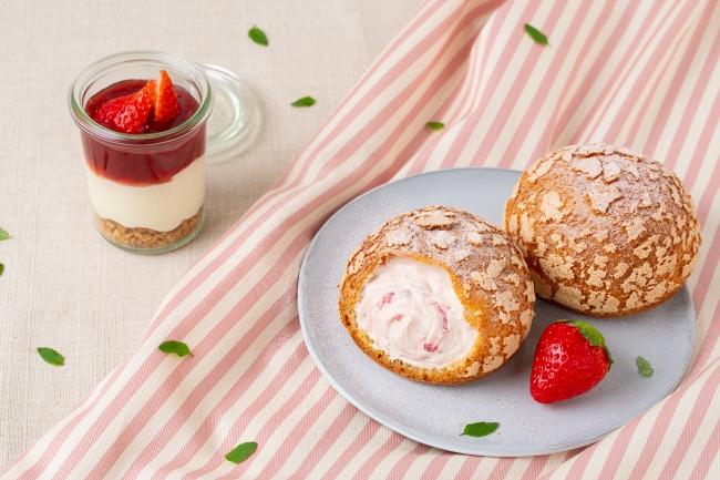 今月は、苺ティラミス🍓プレミアムなシュークリーム専門店シュクリムシュクリから限定フレーバー発売♡