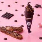 バレンタイン限定💘🎀チョコ尽くしの「チョコザク」「チョコソフト」が期間限定で販売😍🍫