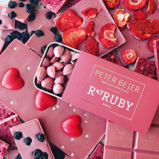 天然ピンクのカカオにうっとり😍話題の第4のチョコレート「ルビーチョコ」をPLAZAでチェック💘