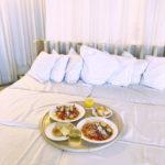 ベッドの上でご飯が食べられる?!おしゃれカフェ🥛💖