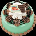 見た目も味も大満足😍サーティワンから、チョコミン党必見のアイスクリームケーキが数量限定発売💚