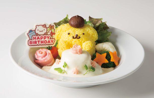 4月16日はポムポムプリンのお誕生日🎂バースデー限定メニューでお誕生日を祝おう🌟