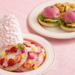 食べるものだって可愛いのがいい💓Eggs 'n Thingsから春らしいピンク色のメニューが登場❣️