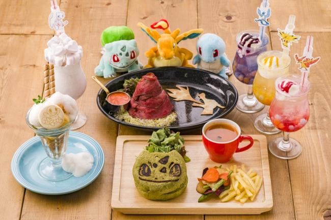 ポケモンカフェ、オープン1周年記念🌟今しか食べられない特別メニューが登場🍔