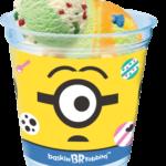 【サーティワン🍨】ダブルカップを買うと、ミニオンアイスをオンしちゃう!😍限定クリアカップも!