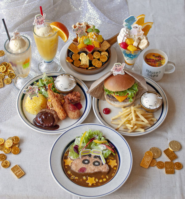 映画公開を記念して✨『映画クレヨンしんちゃん×ハンズカフェ』開催決定🎊