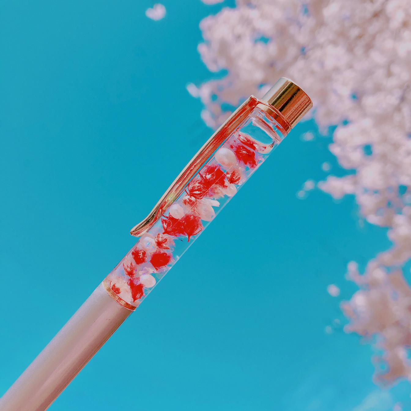 【世界にひとつ】ハーバリウムボールペンの作り方❤︎