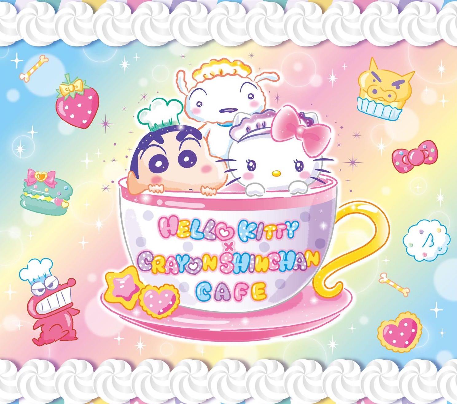 キティ × しんちゃんカフェが大阪にもやってくる💓期間限定コラボカフェ開催🎉