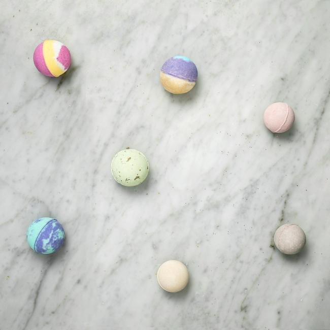 シュワシュワと音を立てる入浴剤♡Lalineのバスフィジー、新発売🛁✨