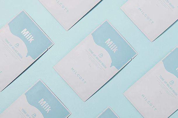 """透明感のあるミルク肌へ✨MILCOTTから""""TUミルキーマスク""""新発売💙"""