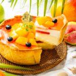 7月のチーズタルトは、トロピカル🧡パブロの「マンゴーとグァバのトロピカルチーズタルト」✨