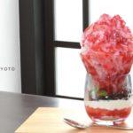 普通のものとは一味違う♡吉祥菓寮 祇園本店の夏季限定パフェ氷🍧