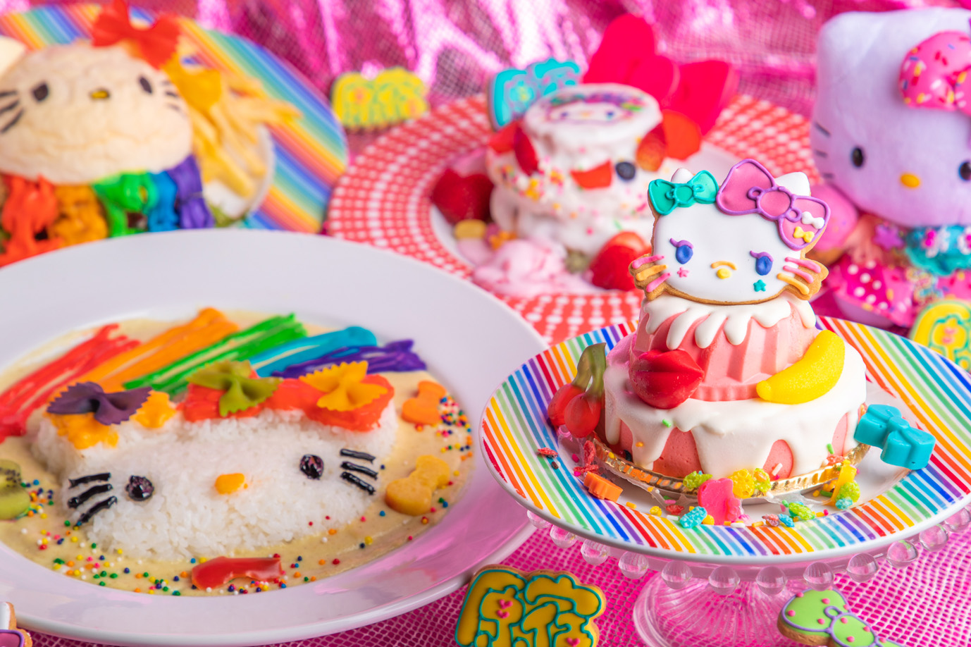 KAWAII MONSTER CAFE × ハローキティ🎀KAWAIIコラボ💘