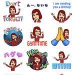 Snapchatとの連携方法も解説!自分のアバターで絵文字が作れる😺❤︎『Bitmoji』