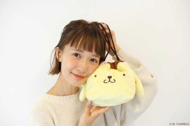 ポムポムプリン×柴田紗希💕大人の女性も持てるコラボアイテム発売🍮✨