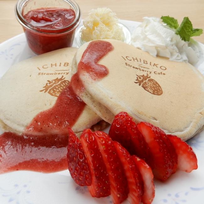 東北発の『ミガキイチゴ』×『九州パンケーキ』、ICHIBIKOパンケーキ発売🥞🍓