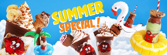 この夏限定😍クッキータイム原宿から、フローズンミルクボトルが新発売中!