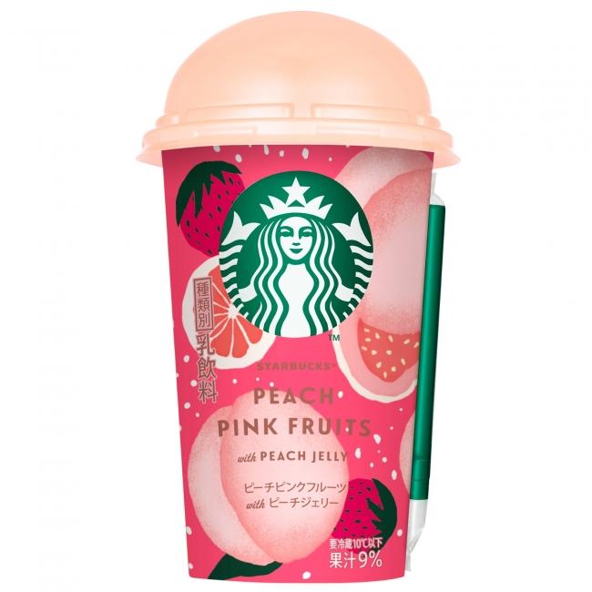 ピンクのパッケージに注目💕「スターバックス ピーチピンクフルーツ with ピーチジェリー」🍑
