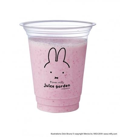 日本初出店🇯🇵「フラワーミッフィー juice garden」、大阪に期間限定オープン🍹
