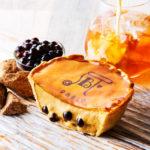今までにない組み合わせ💕「パブロチーズタルト小さいサイズ – 黒糖タピオカミルクティー」数量限定発売!